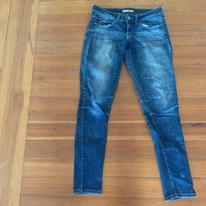 Pants - Blue washed jeans